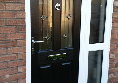 Jacobean Rockdoor Combination in black