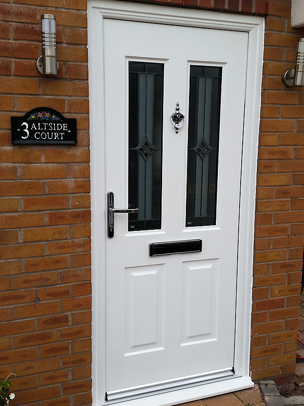 White Jacobean Rockdoor Combination & Rockdoors Liverpool - The Honest Fitter Liverpool