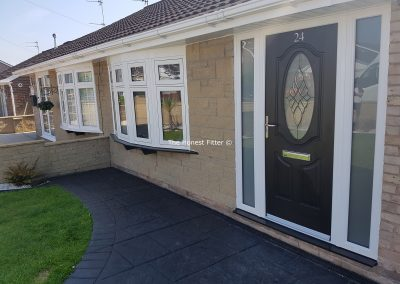 Flush Finish Windows With Diamond Bevels The Honest Fitter Liverpool