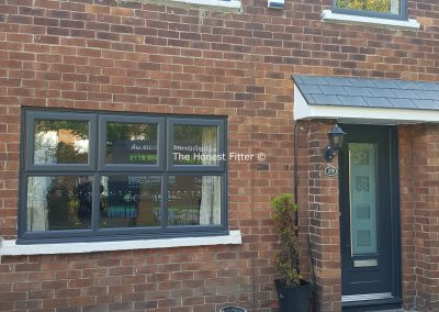 Grey UPVC Windows The Honest Fitter Liverpool