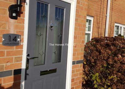 Jacobean Linear Slate Grey Rockdoor The Honest Fitter 2 Liverpool