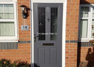 Jacobean Linear Slate Grey Rockdoor The Honest Fitter Liverpool