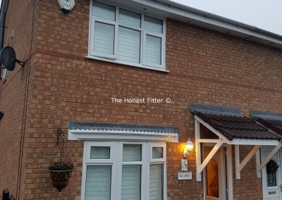 White Flush Finish Windows Liverpool